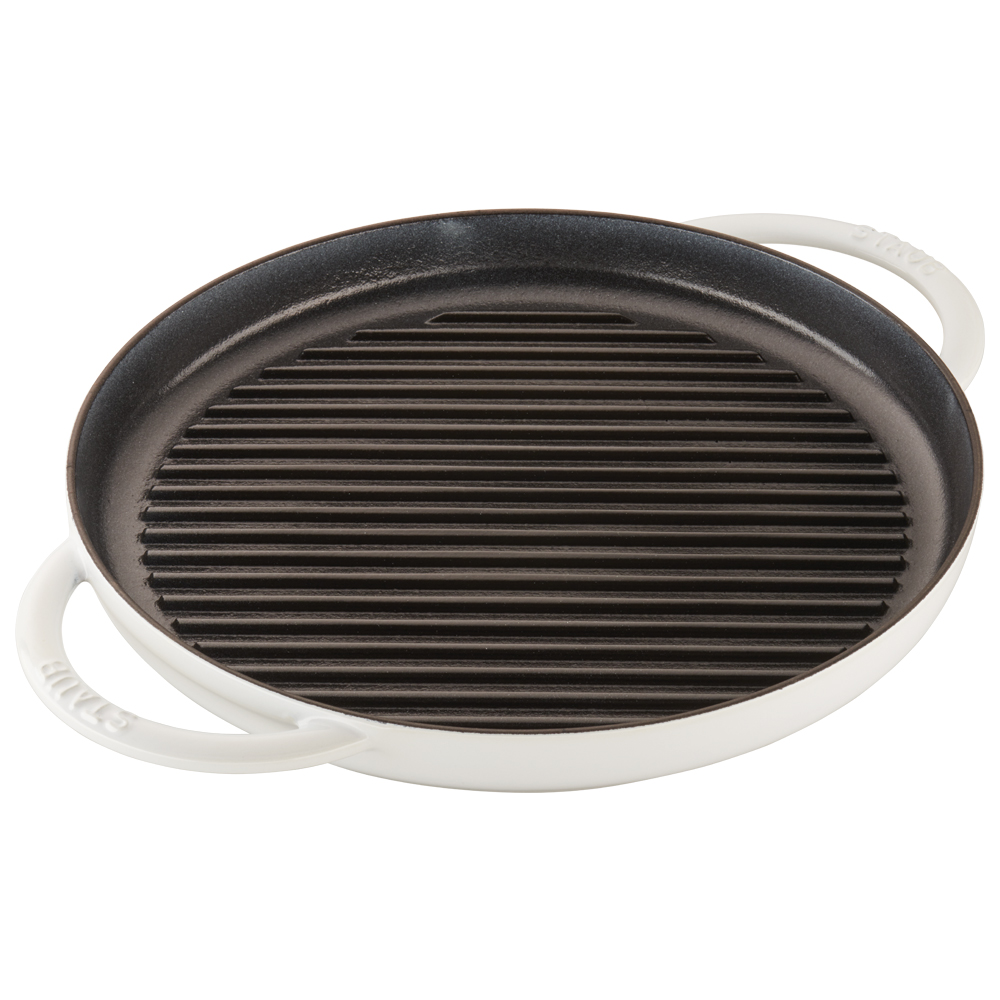Staub-Cast-Iron-12-inch-Round-Steam-Grill thumbnail 13