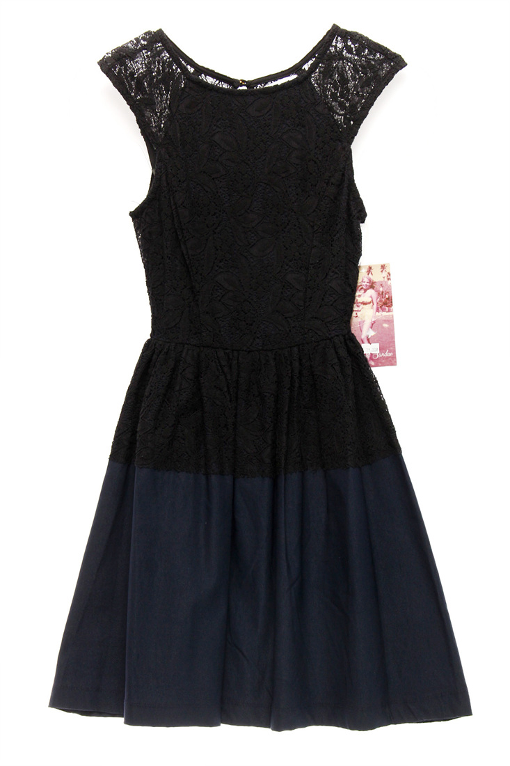 633b737d7 Details about EMERALD SUNDAE $79 NEW 13962 Juniors Lace Fit & Flare Womens  Dress 1
