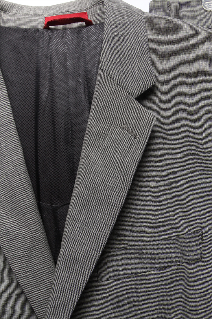 a2975894b ALFANI $495 Mens 2418 Wool Slim Fit 2PC Suit 42L 36W 32L ...