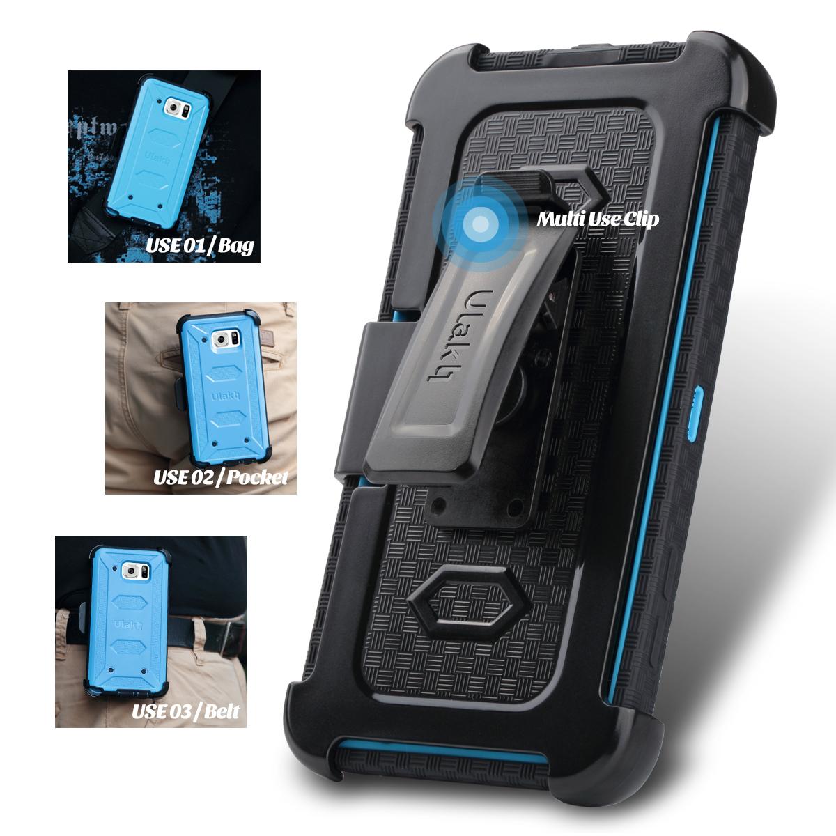 for-Samsung-Galaxy-Note-5-Defender-Case-Hybrid- for Samsung Galaxy Note 5 Defender Case Hybrid Shockproof w/ Belt