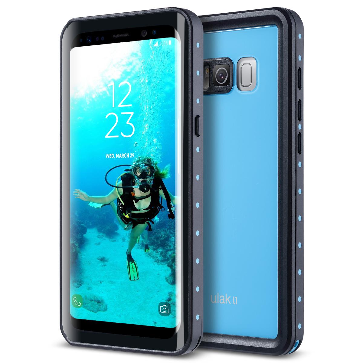the best attitude e8b6c b3766 Details about Samsung Galaxy S8 Waterproof Case 32.8ft Underwater  Shockproof Dirtproof