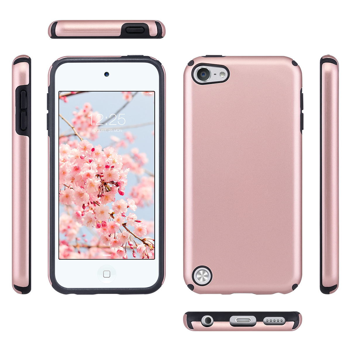Hybrid-Hard-Protective-Silicon-TPU-Case-for-Apple-iPod-Touch-5-6th-Generation thumbnail 22