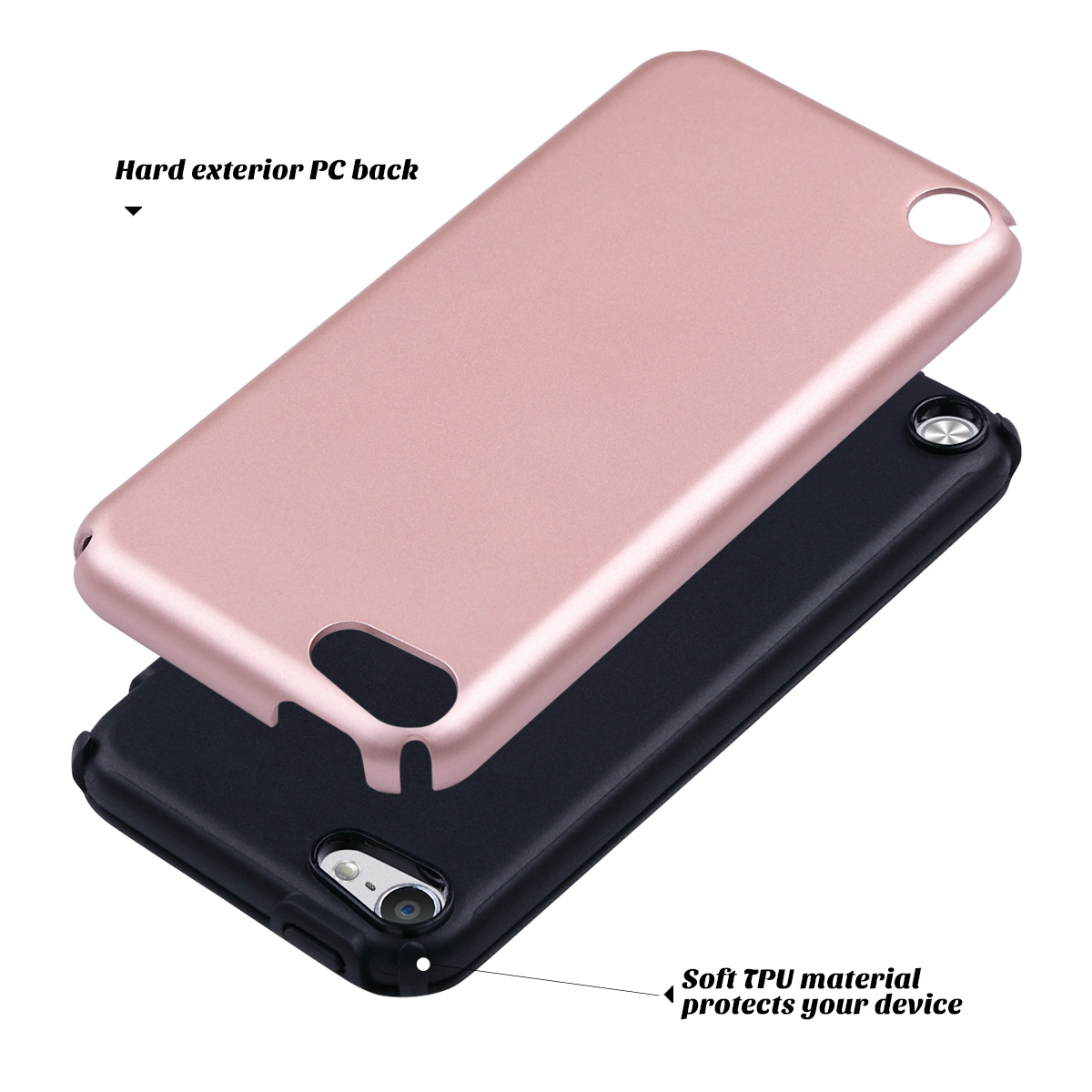 Hybrid-Hard-Protective-Silicon-TPU-Case-for-Apple-iPod-Touch-5-6th-Generation thumbnail 23