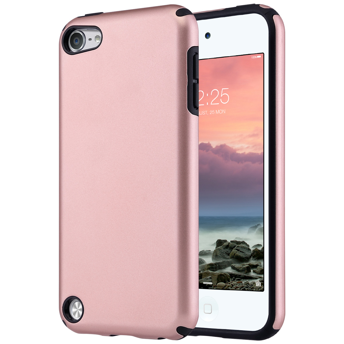 Hybrid-Hard-Protective-Silicon-TPU-Case-for-Apple-iPod-Touch-5-6th-Generation thumbnail 24