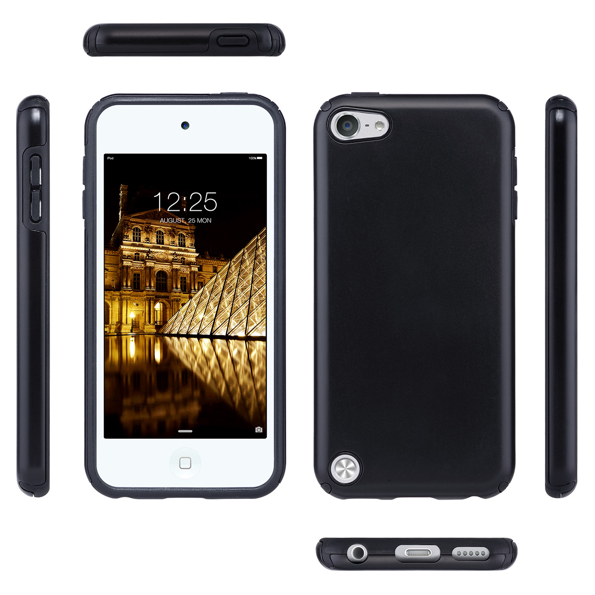 Hybrid-Hard-Protective-Silicon-TPU-Case-for-Apple-iPod-Touch-5-6th-Generation thumbnail 15
