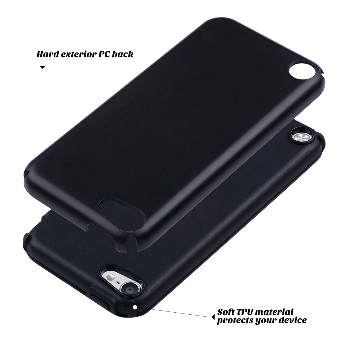 Hybrid-Hard-Protective-Silicon-TPU-Case-for-Apple-iPod-Touch-5-6th-Generation thumbnail 16