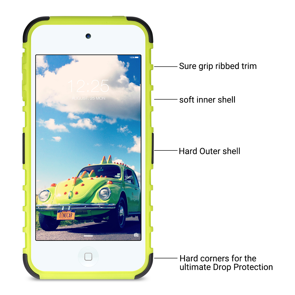 Hybrid-Hard-Protective-Silicon-TPU-Case-for-Apple-iPod-Touch-5-6th-Generation thumbnail 34