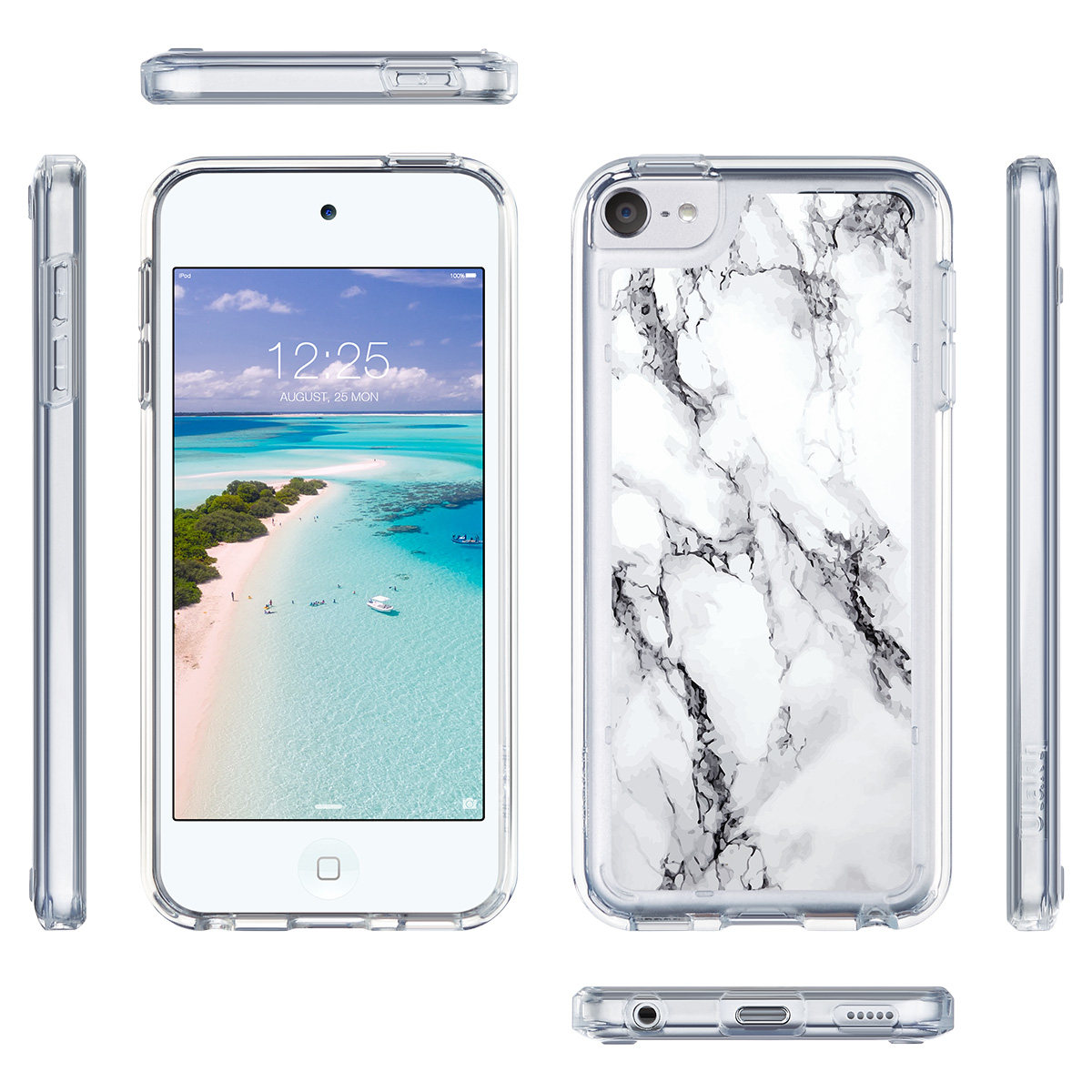 For-iPod-Touch-5-6th-7-Gen-Crystal-Clear-Back-Shockproof-Bumper-Hard-Case-Cover thumbnail 35