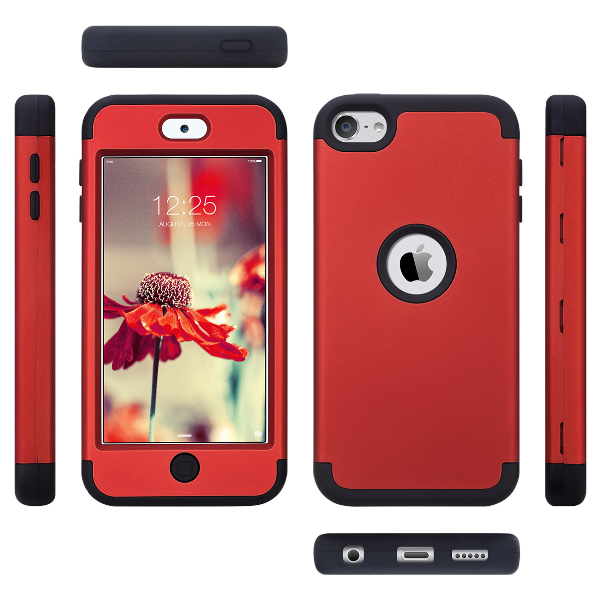 Hybrid-Hard-Protective-Silicon-TPU-Case-for-Apple-iPod-Touch-5-6th-Generation thumbnail 98