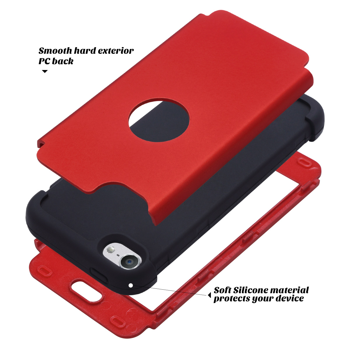 Hybrid-Hard-Protective-Silicon-TPU-Case-for-Apple-iPod-Touch-5-6th-Generation thumbnail 99