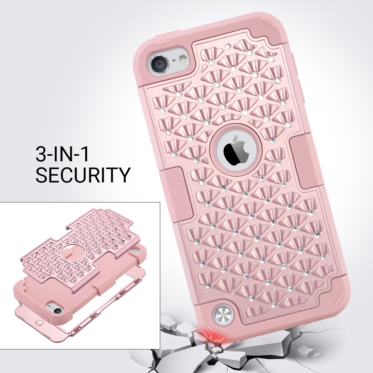 Hybrid-Hard-Protective-Silicon-TPU-Case-for-Apple-iPod-Touch-5-6th-Generation thumbnail 129