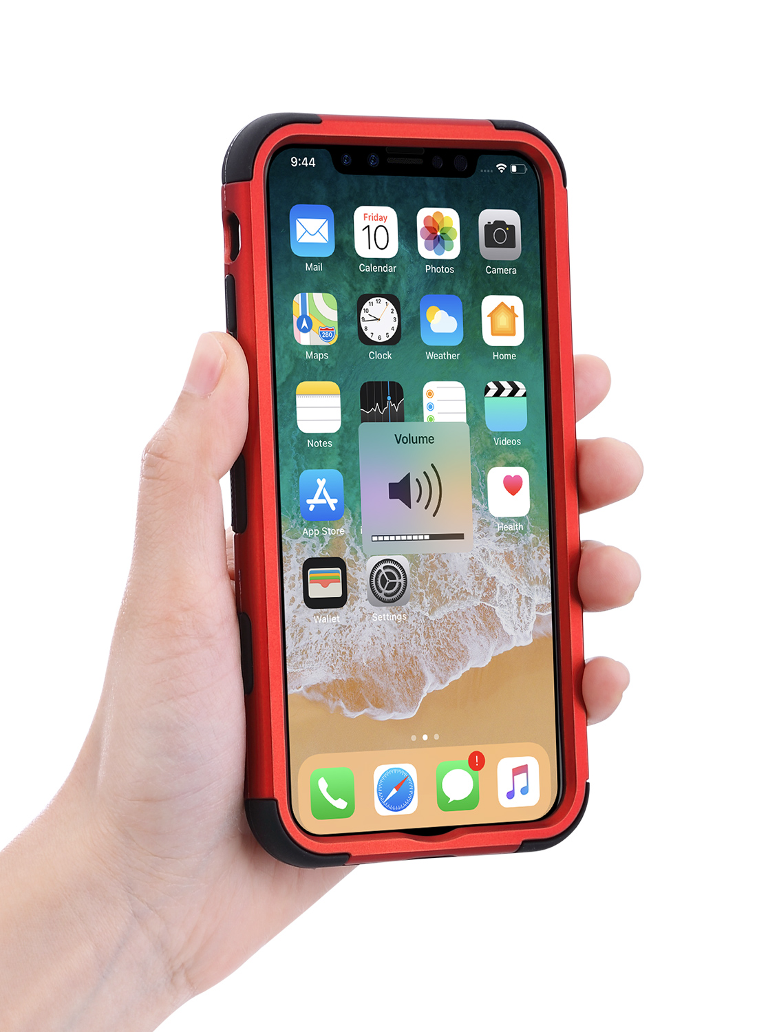 Hybrid-Heavy-Duty-Shockproof-Rugged-Armor-Defender-Cover-Case-For-Apple-iphone-X
