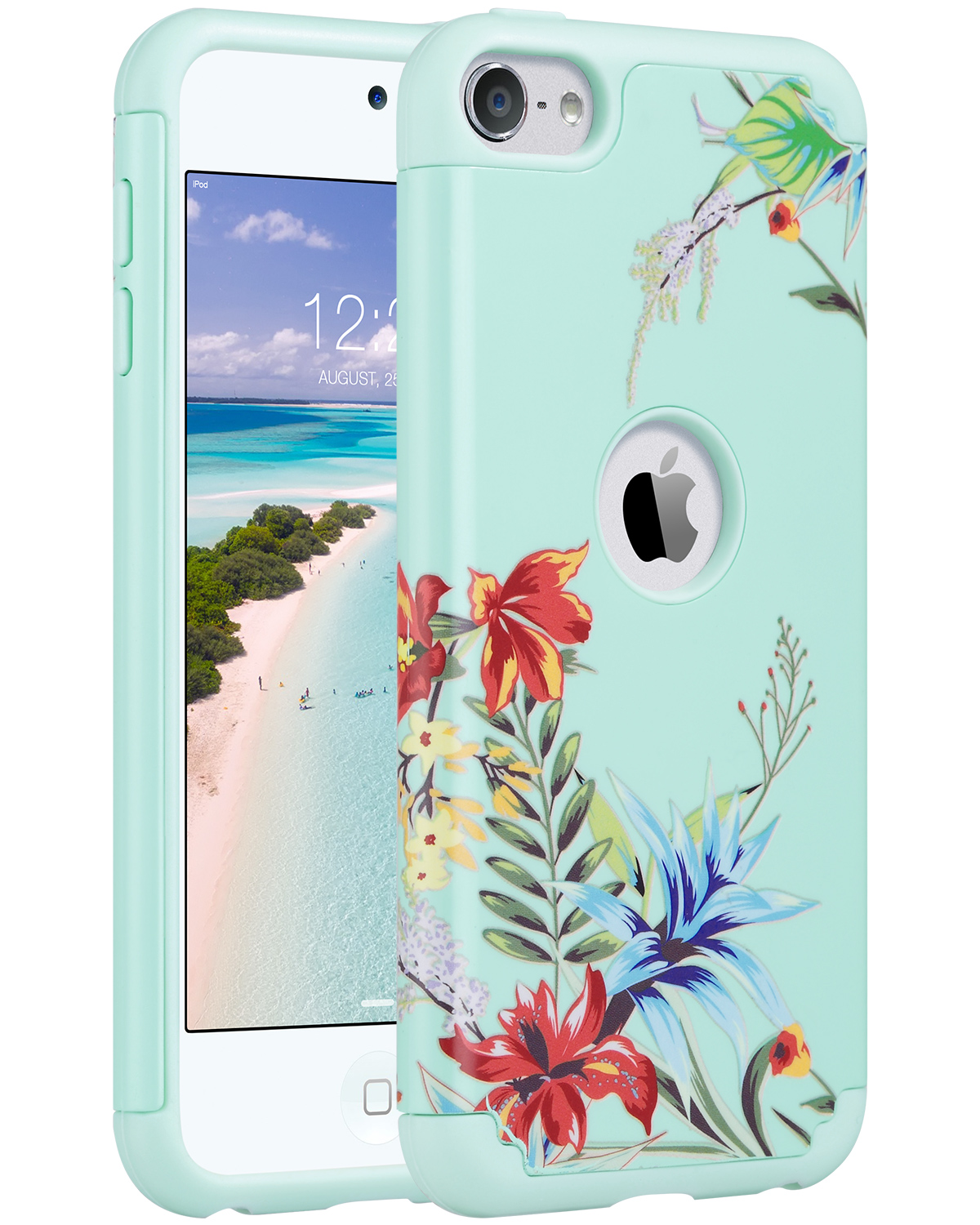 Hybrid-Hard-Protective-Silicon-TPU-Case-for-Apple-iPod-Touch-5-6th-Generation thumbnail 56