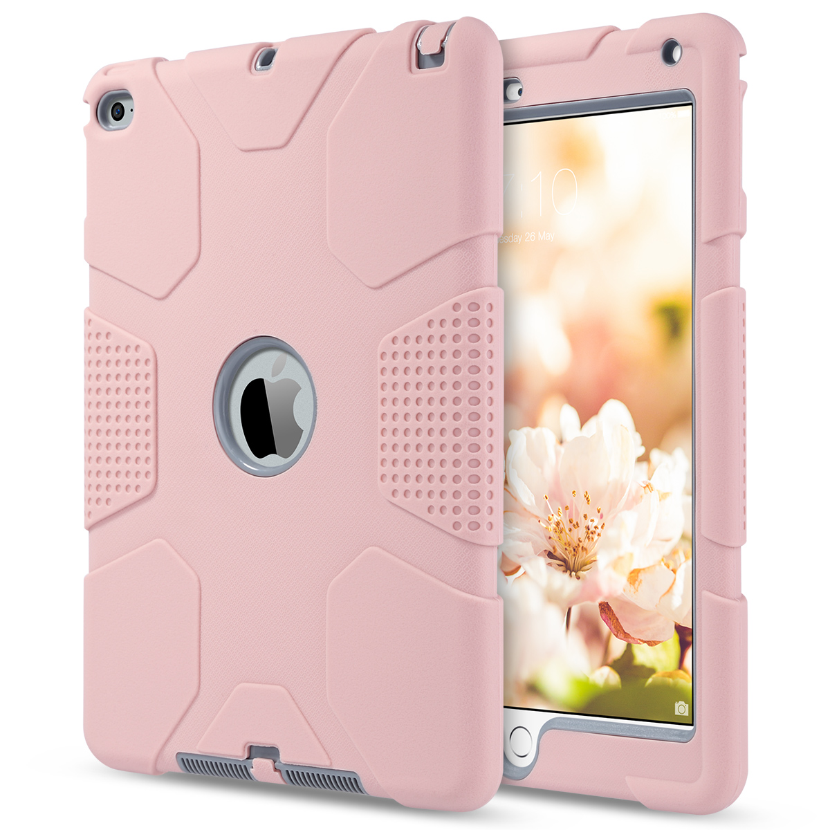 Shockproof-Heavy-Duty-Rubber-With-Hard-Stand-Case-Cover-For-Apple-iPad-Air-2 thumbnail 40