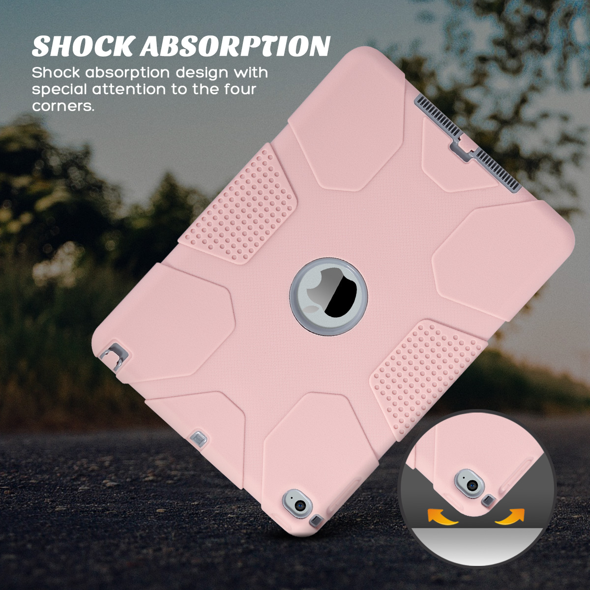 Shockproof-Heavy-Duty-Rubber-With-Hard-Stand-Case-Cover-For-Apple-iPad-Air-2 thumbnail 41