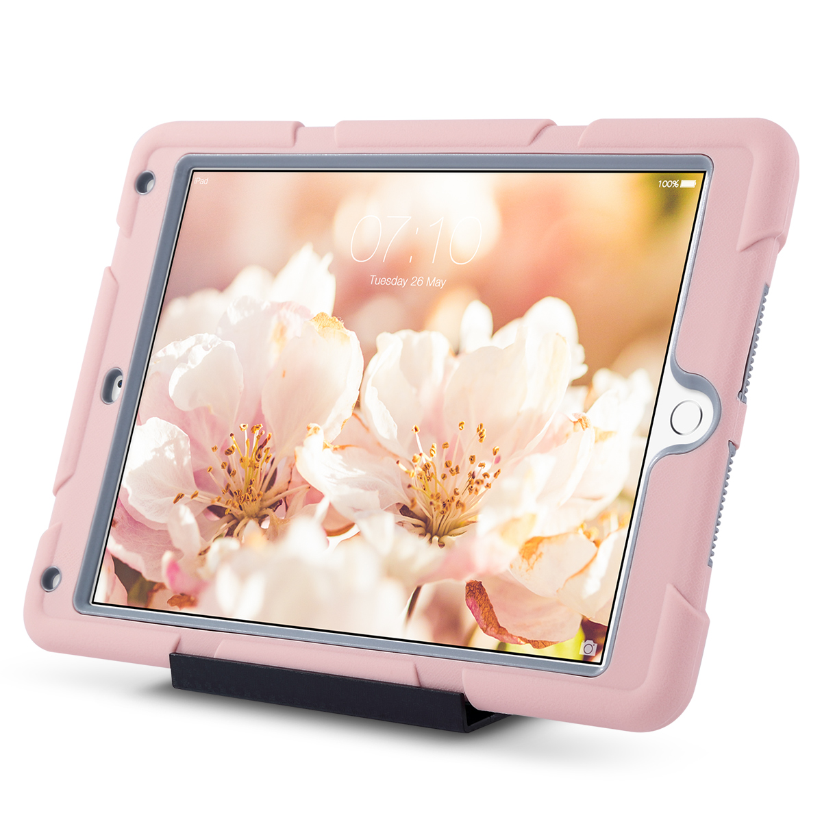 Shockproof-Heavy-Duty-Rubber-With-Hard-Stand-Case-Cover-For-Apple-iPad-Air-2 thumbnail 47