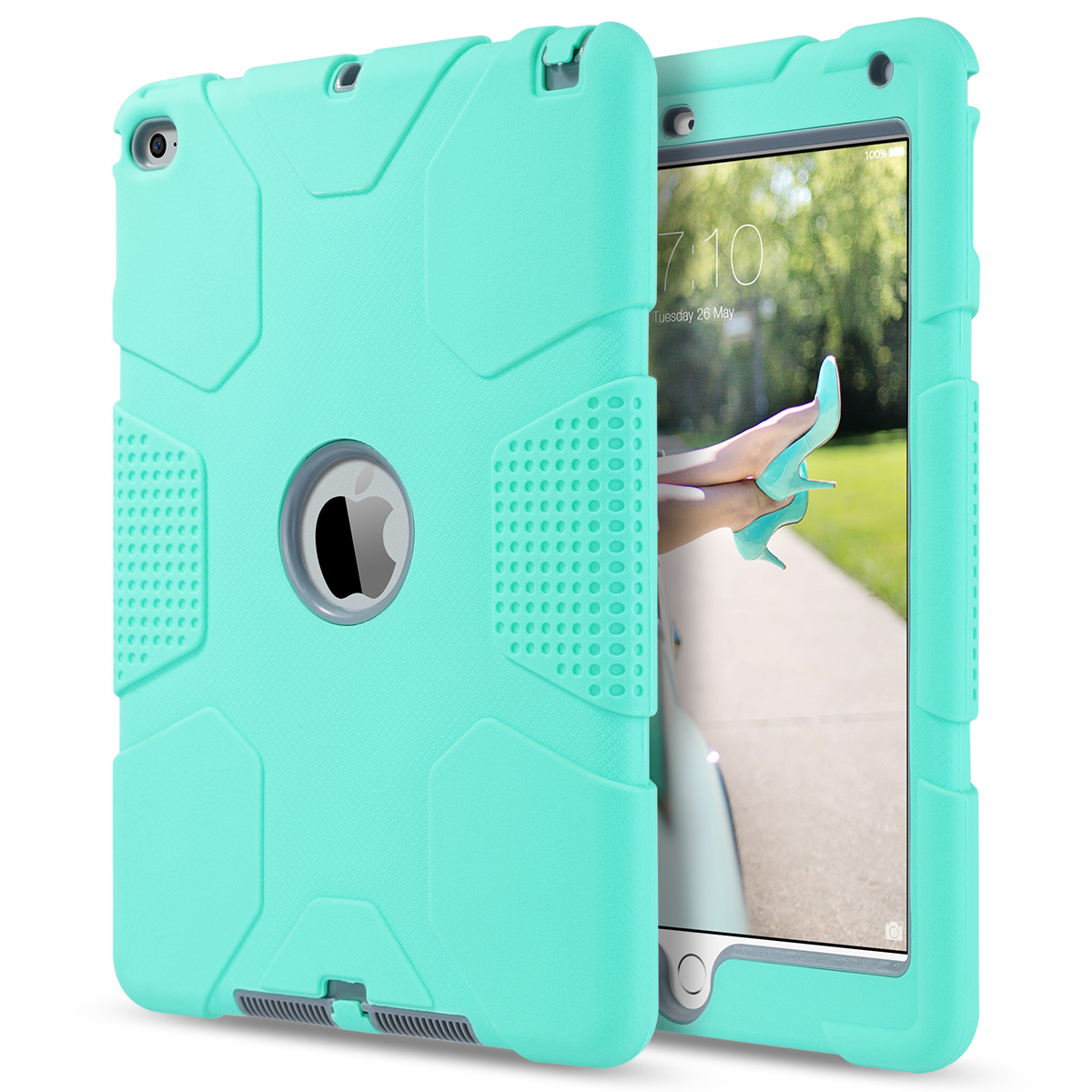 Shockproof-Heavy-Duty-Rubber-With-Hard-Stand-Case-Cover-For-Apple-iPad-Air-2 thumbnail 22