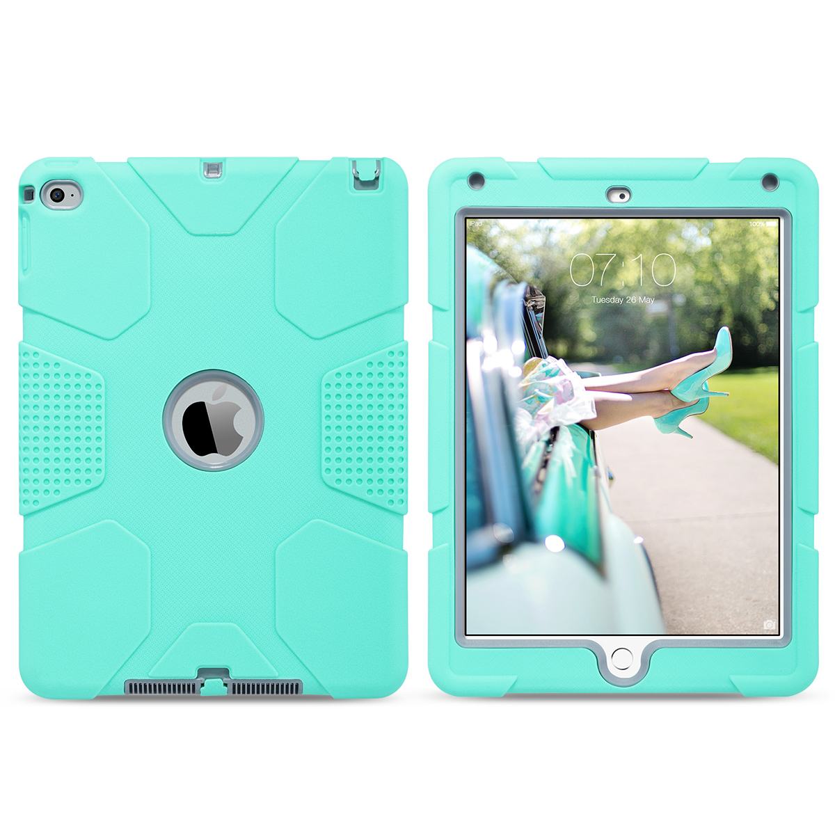 Shockproof-Heavy-Duty-Rubber-With-Hard-Stand-Case-Cover-For-Apple-iPad-Air-2 thumbnail 26