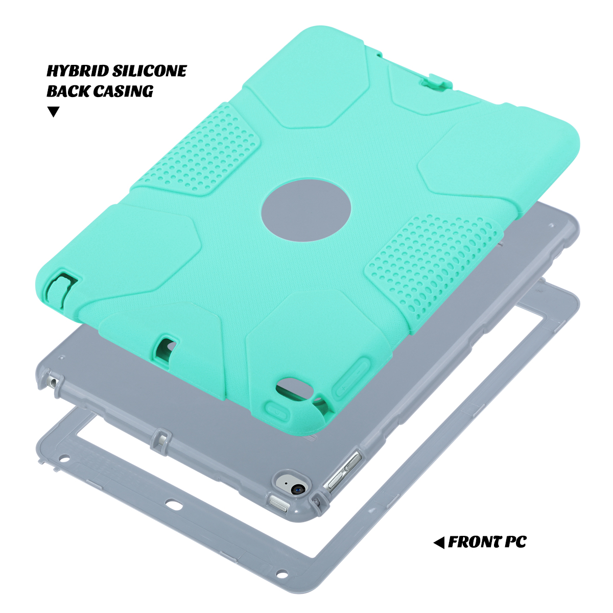 Shockproof-Heavy-Duty-Rubber-With-Hard-Stand-Case-Cover-For-Apple-iPad-Air-2 thumbnail 28