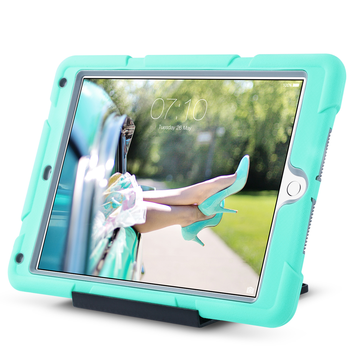 Shockproof-Heavy-Duty-Rubber-With-Hard-Stand-Case-Cover-For-Apple-iPad-Air-2 thumbnail 29