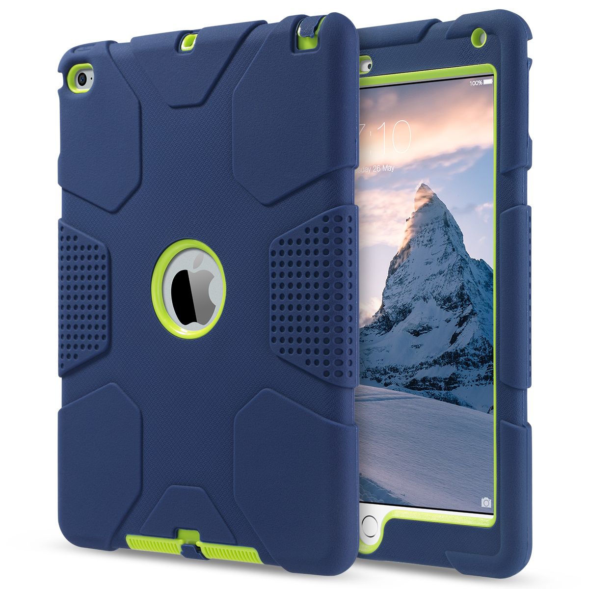 Shockproof-Heavy-Duty-Rubber-With-Hard-Stand-Case-Cover-For-Apple-iPad-Air-2 thumbnail 31