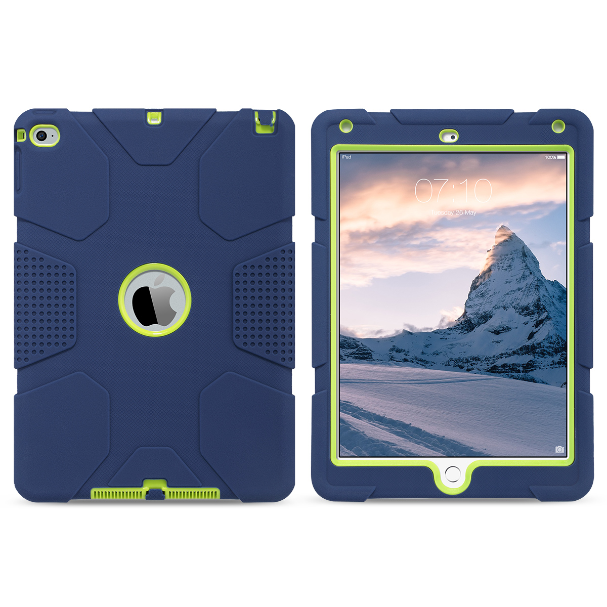 Shockproof-Heavy-Duty-Rubber-With-Hard-Stand-Case-Cover-For-Apple-iPad-Air-2 thumbnail 35