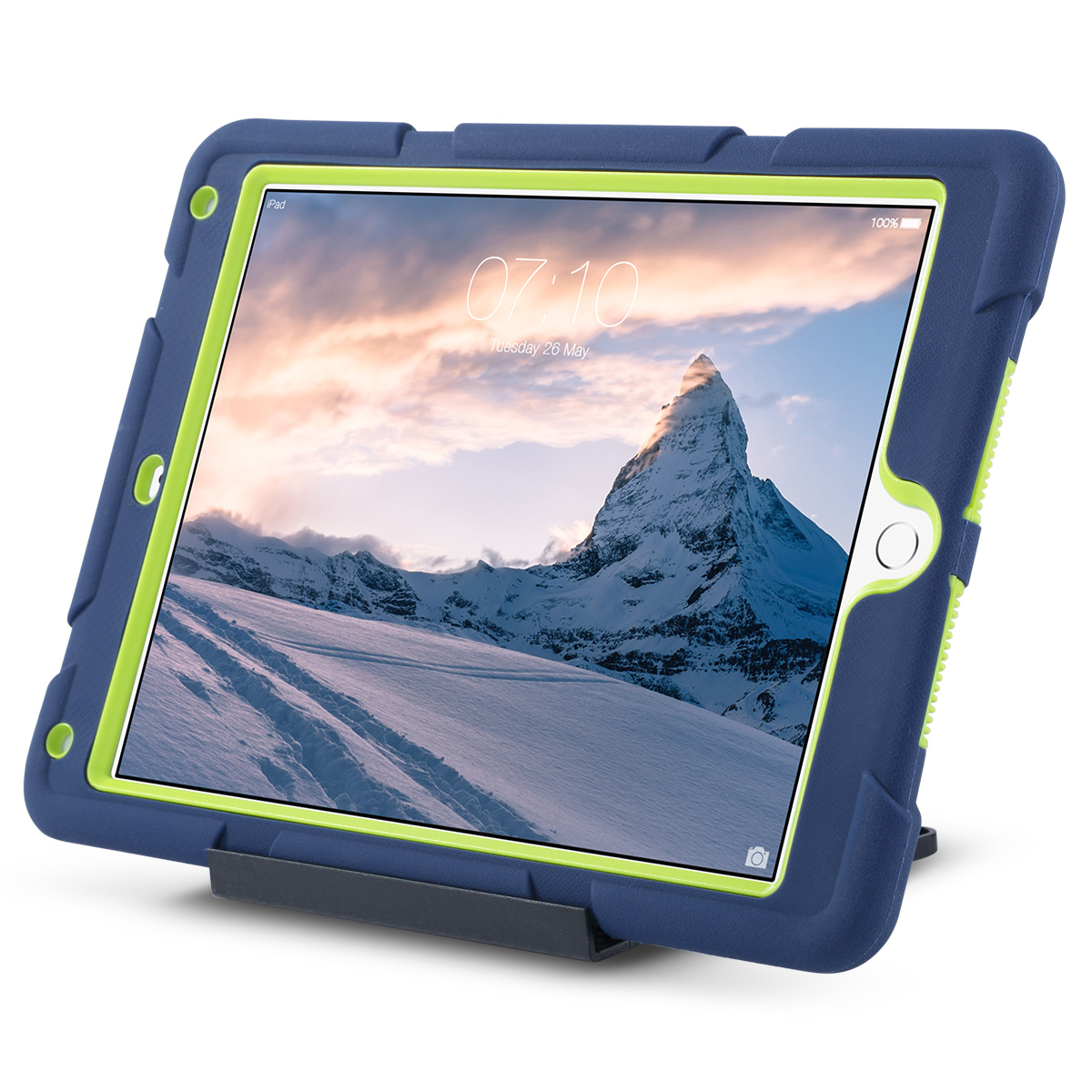 Shockproof-Heavy-Duty-Rubber-With-Hard-Stand-Case-Cover-For-Apple-iPad-Air-2 thumbnail 38