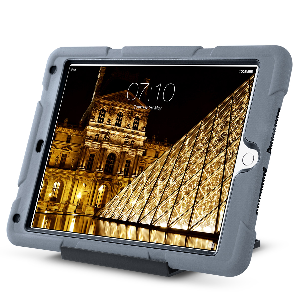 Shockproof-Heavy-Duty-Rubber-With-Hard-Stand-Case-Cover-For-Apple-iPad-Air-2 thumbnail 20