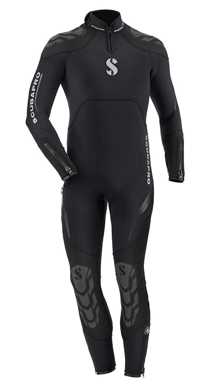 Scubapro Everflex Steamer Wetsuit 5 4 mm Men s - Black - scubachoice 4b669b504