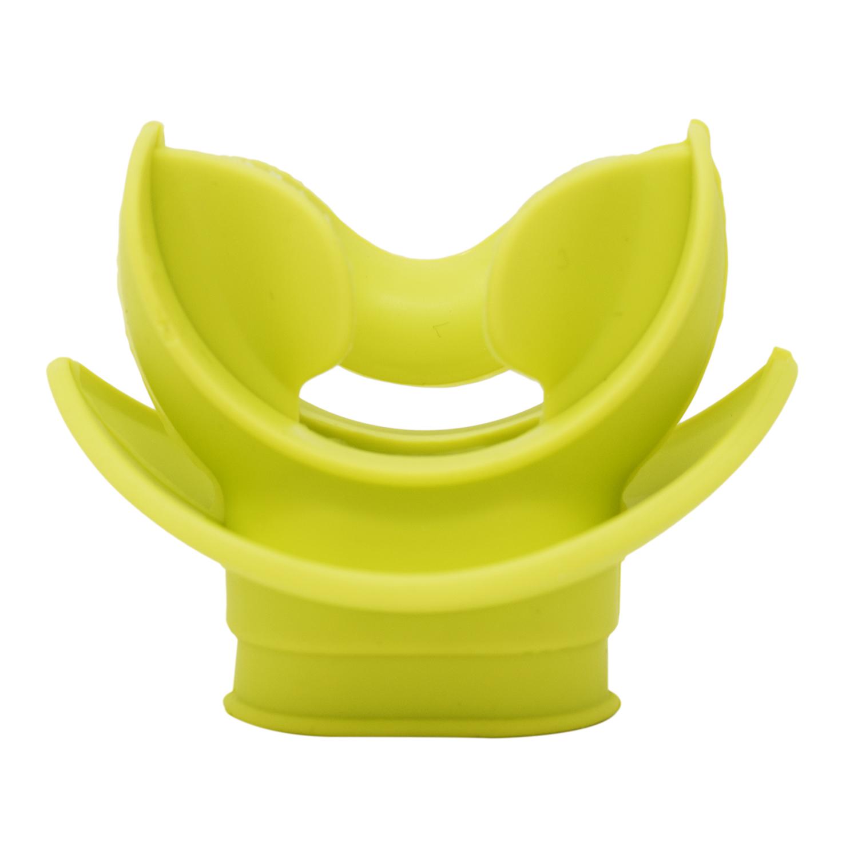 Transparent Yellow Silicone Scuba Diving Moldable Bite Mouthpiece Regulator
