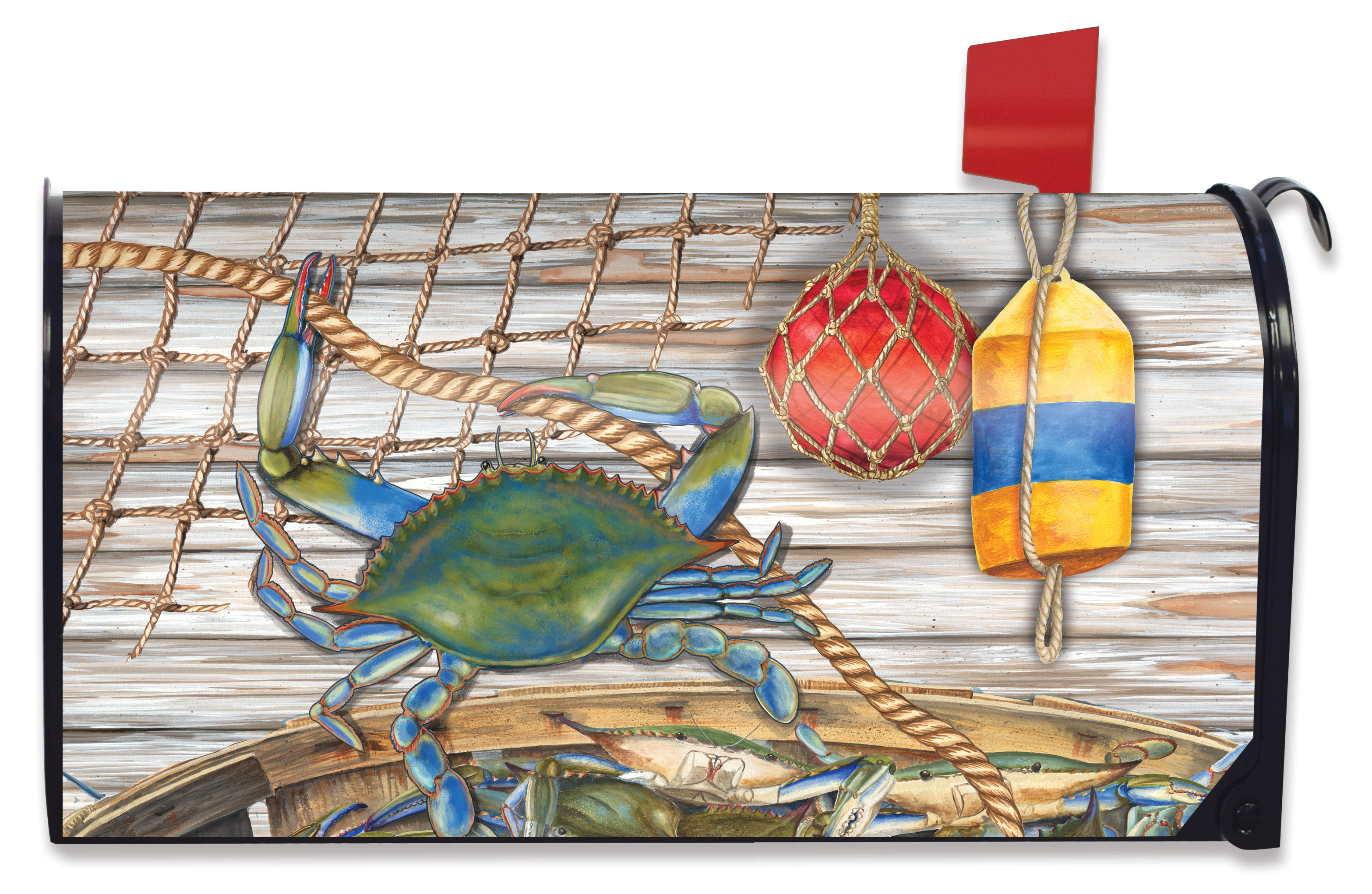 Briarwood Lane Sea Turtle Summer Magnetic Mailbox Cover Starfish Nautical
