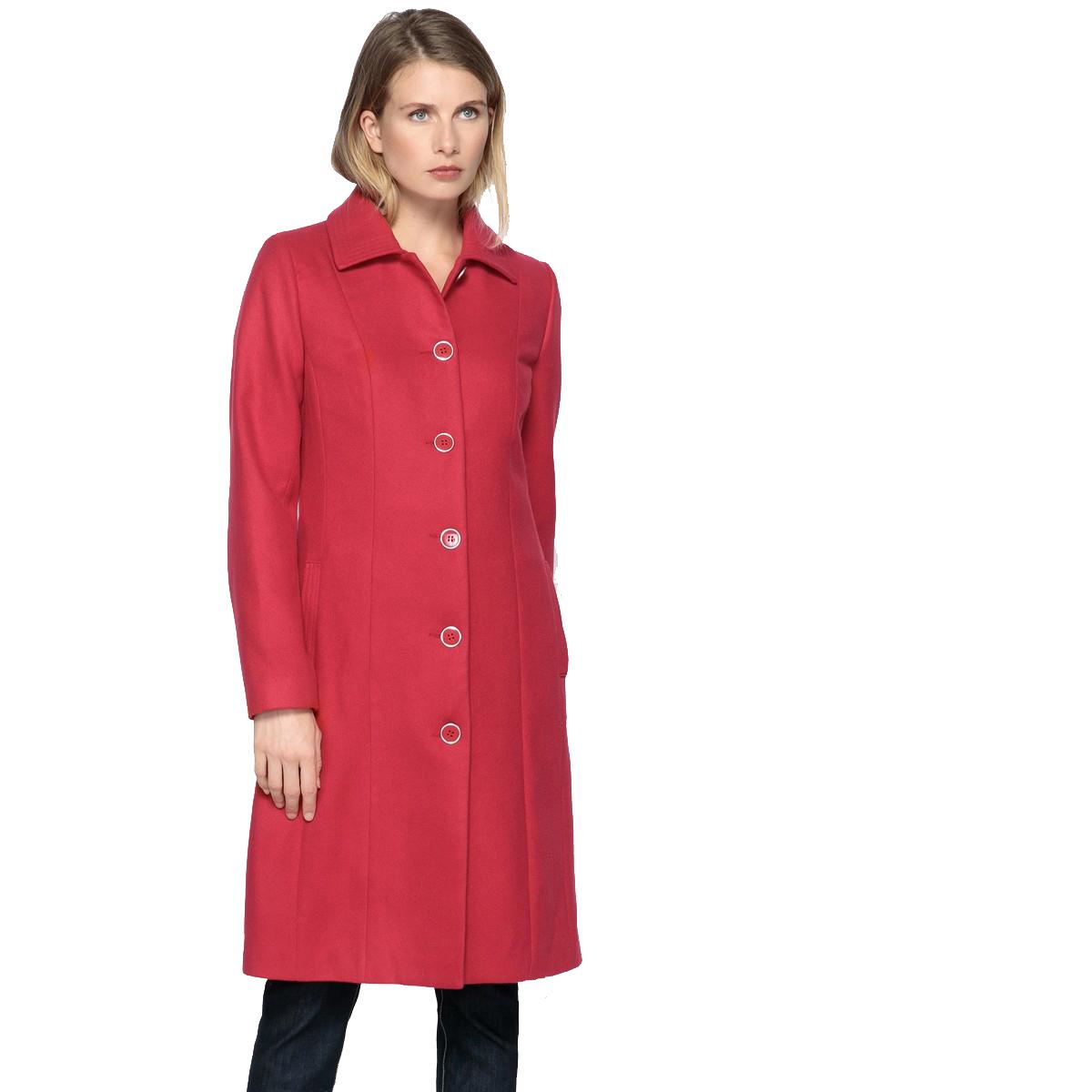 La rödoute kvinnor Classic Wool Coat 35000382