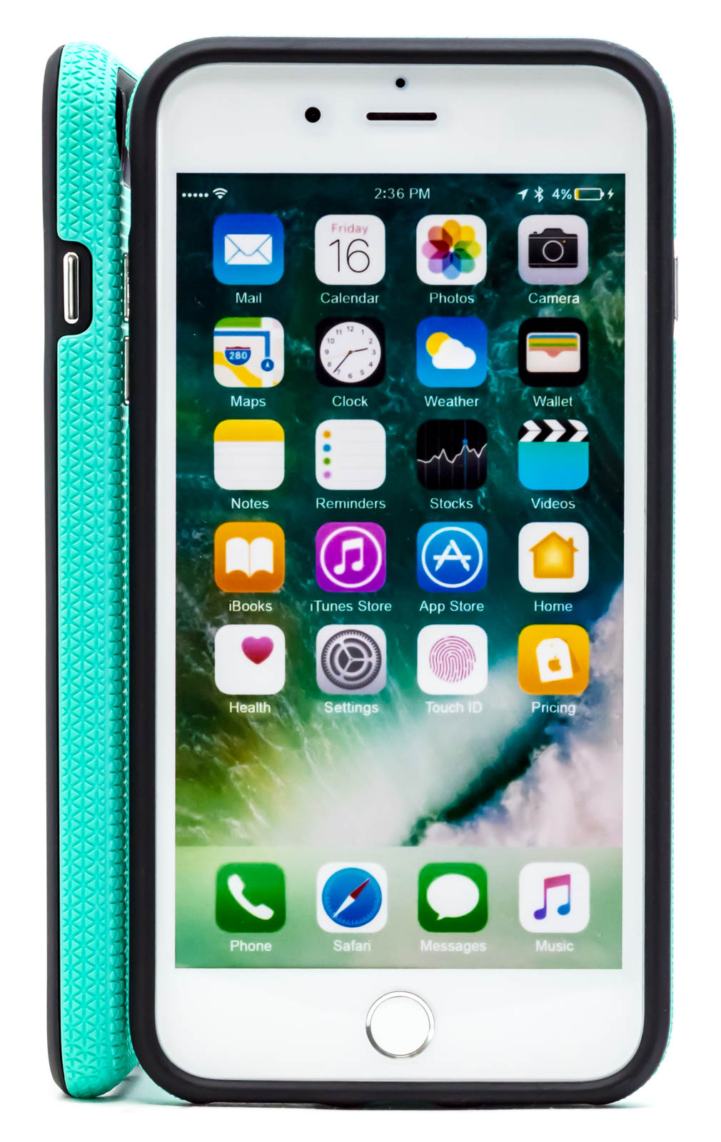 Apple-iPhone-6s-Plus-7-Plus-8-Plus-Case-Hybrid-Textured-Armor-Shell-Cover thumbnail 30