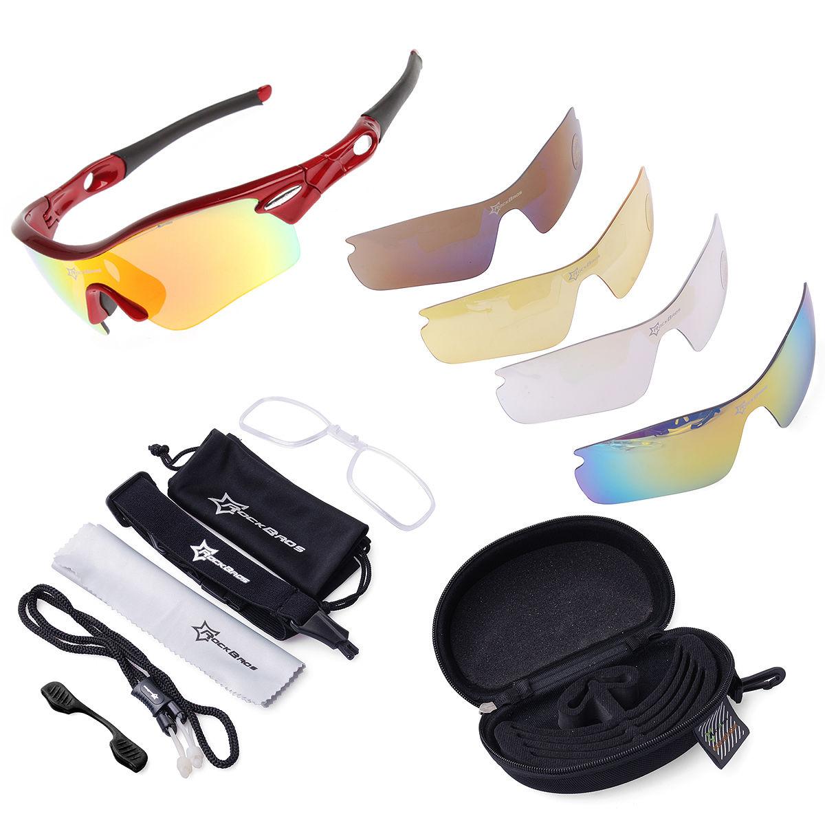 78c664c2620 Rockbros Polarized Cycling Glasses Sports Glasses Sunglasses Goggles White