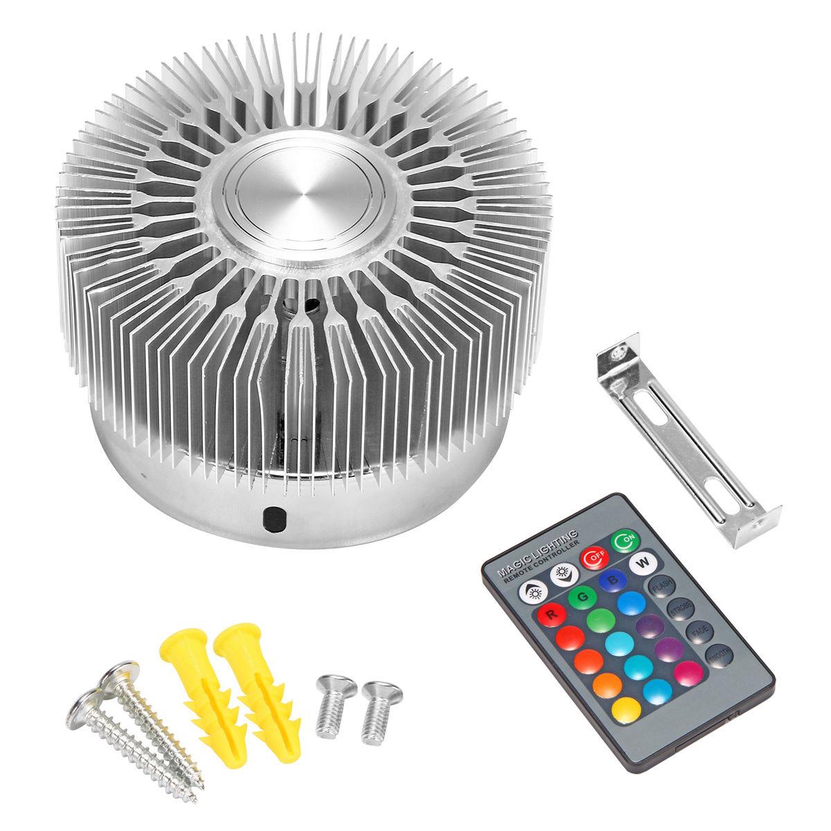 Led Home Lighting Fixtures: 3W High Power LED Wall Light Sconce RGB Lighting Home