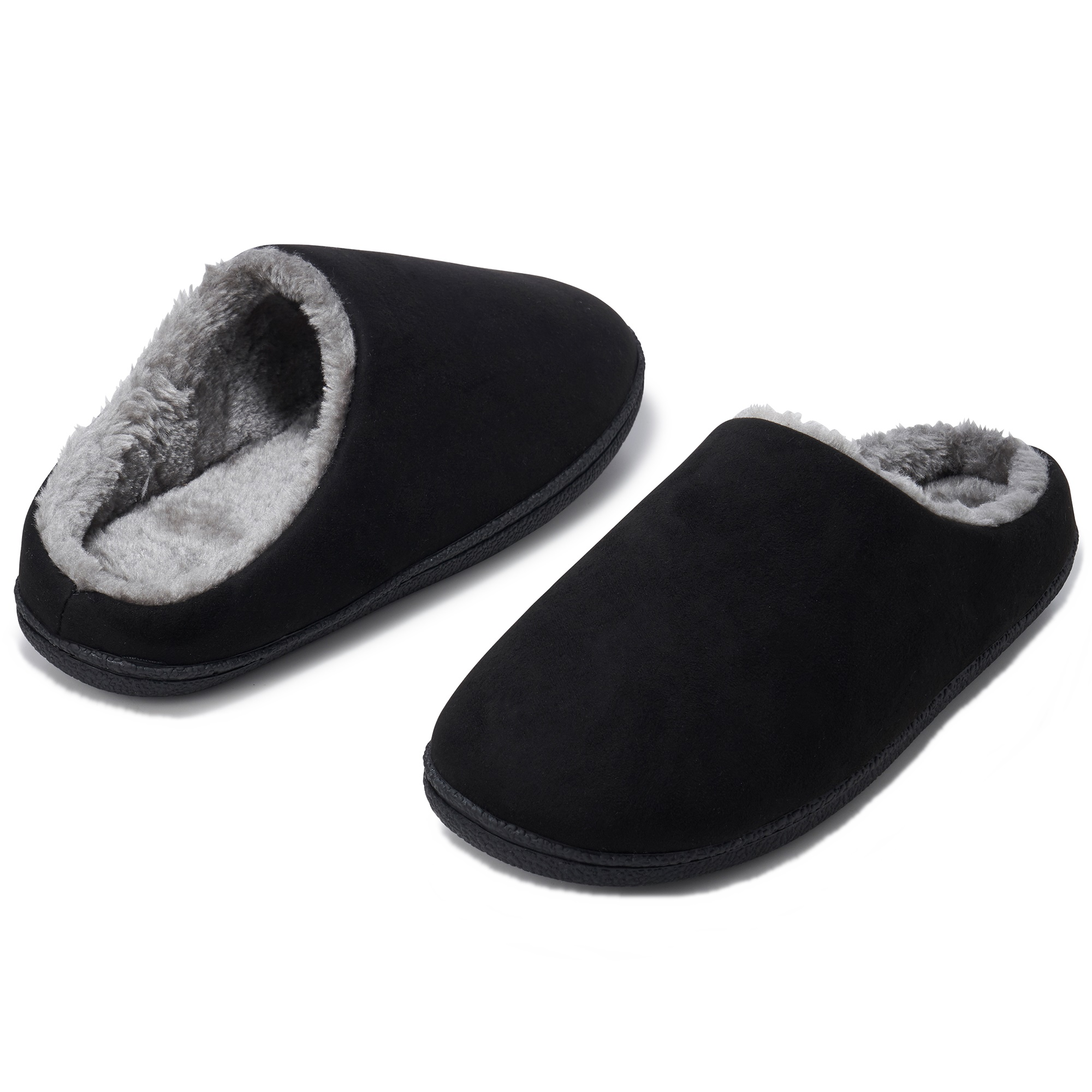 Alpine-Swiss-Mens-Memory-Foam-Clog-Slippers-Indoor-Comfort-Slip-On-House-Shoes thumbnail 14