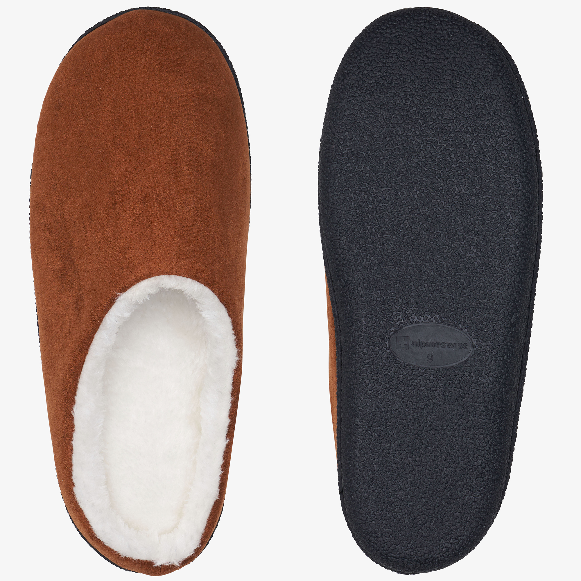 Alpine-Swiss-Mens-Memory-Foam-Clog-Slippers-Indoor-Comfort-Slip-On-House-Shoes thumbnail 22