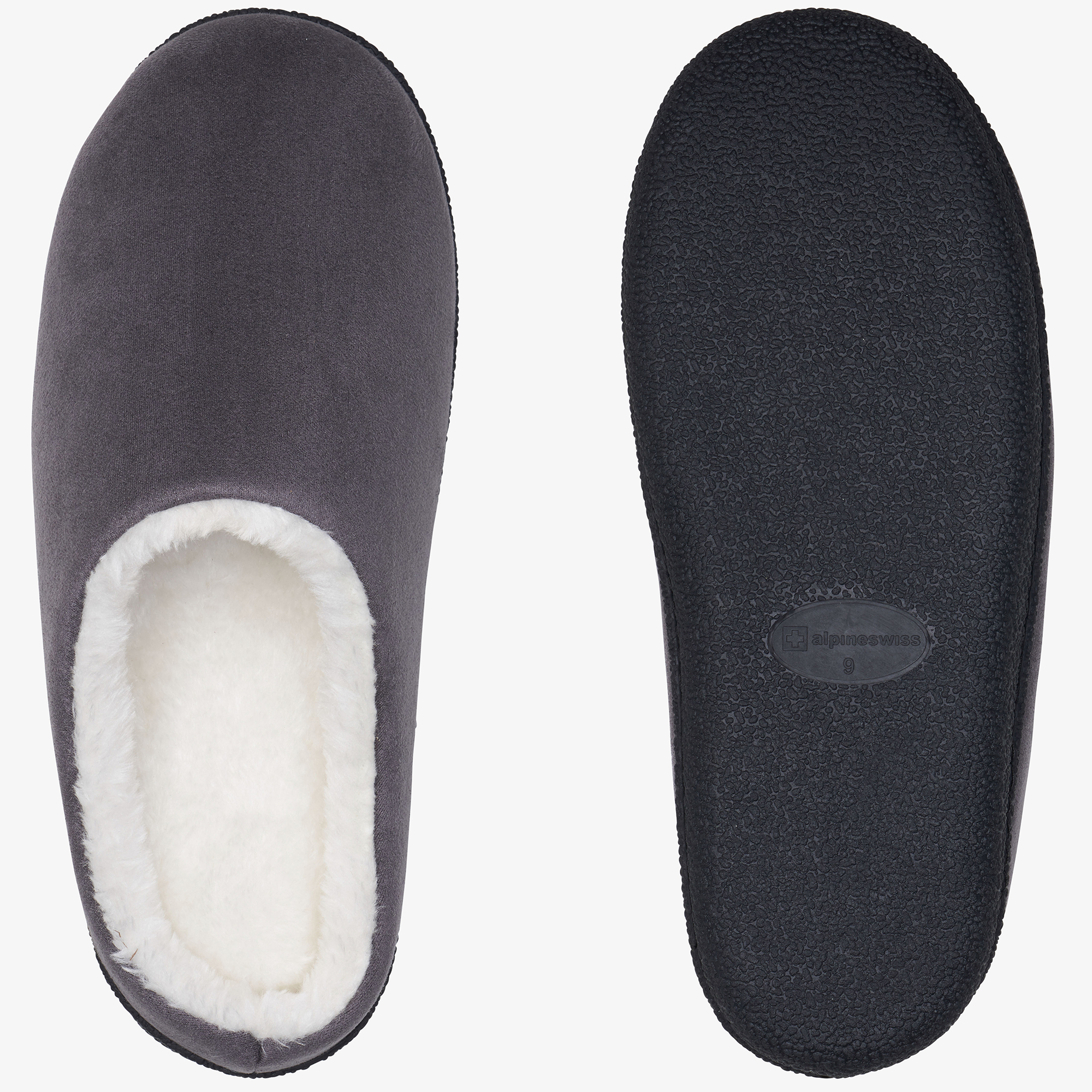 Alpine-Swiss-Mens-Memory-Foam-Clog-Slippers-Indoor-Comfort-Slip-On-House-Shoes thumbnail 28