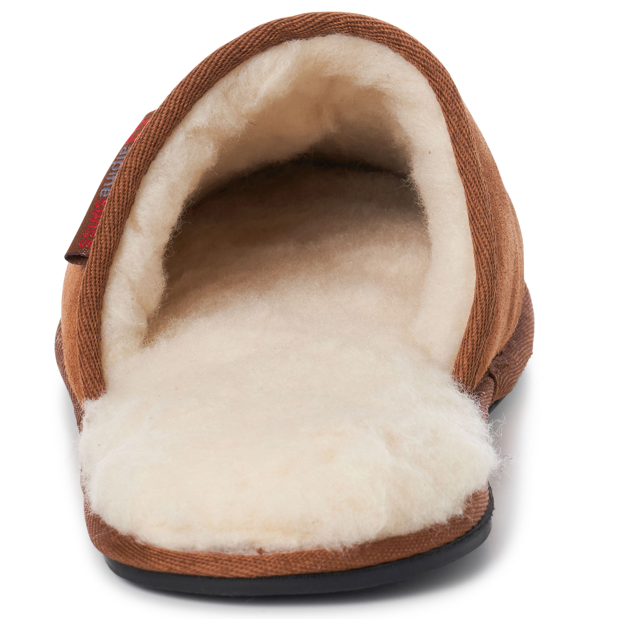 Alpine-Swiss-Mens-Suede-Memory-Foam-Scuff-Slippers-Comfort-Slip-On-House-Shoes thumbnail 22