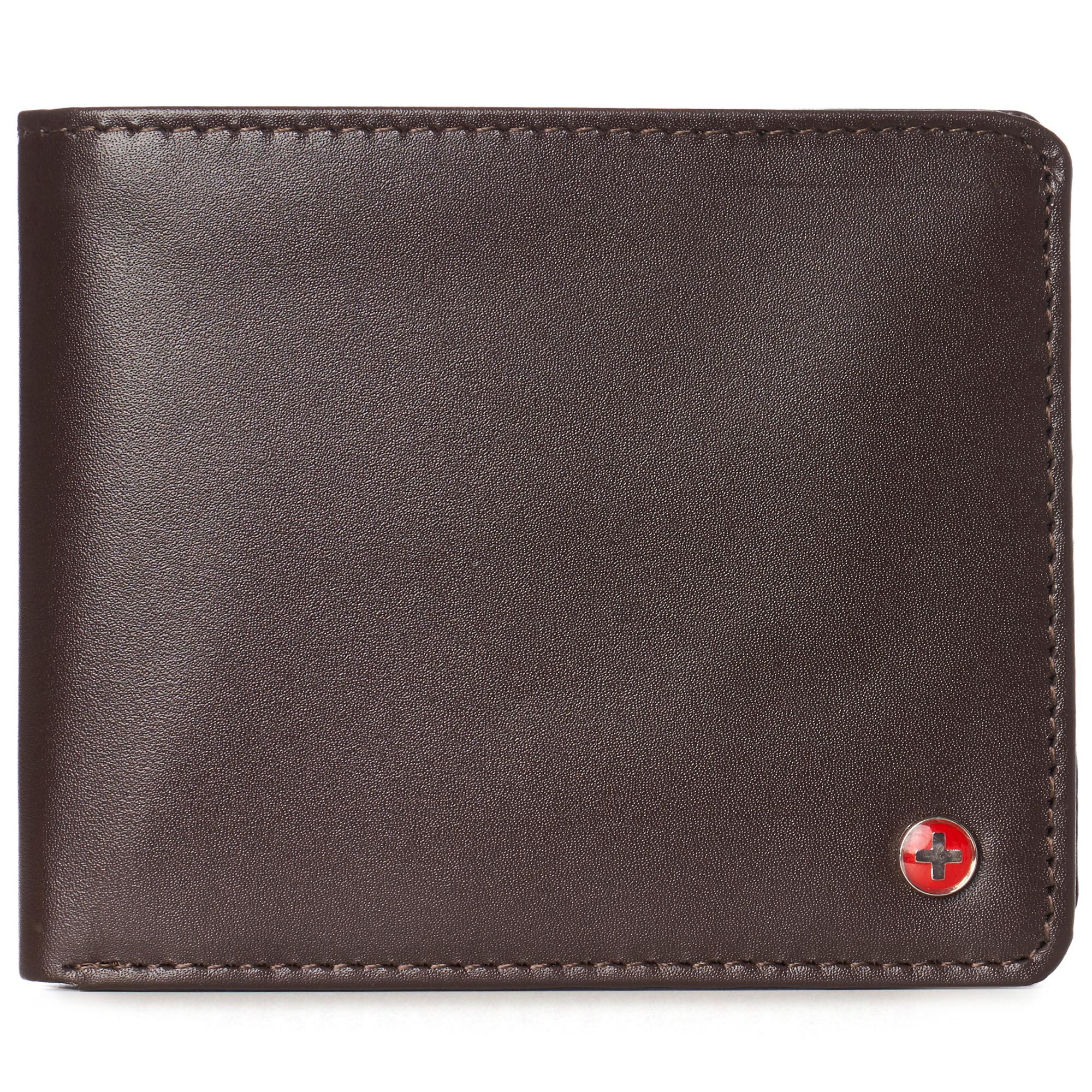 Men/'s doux lisse en Cuir Véritable Portefeuille Slim portefeuille carte de crédit titulaire 125