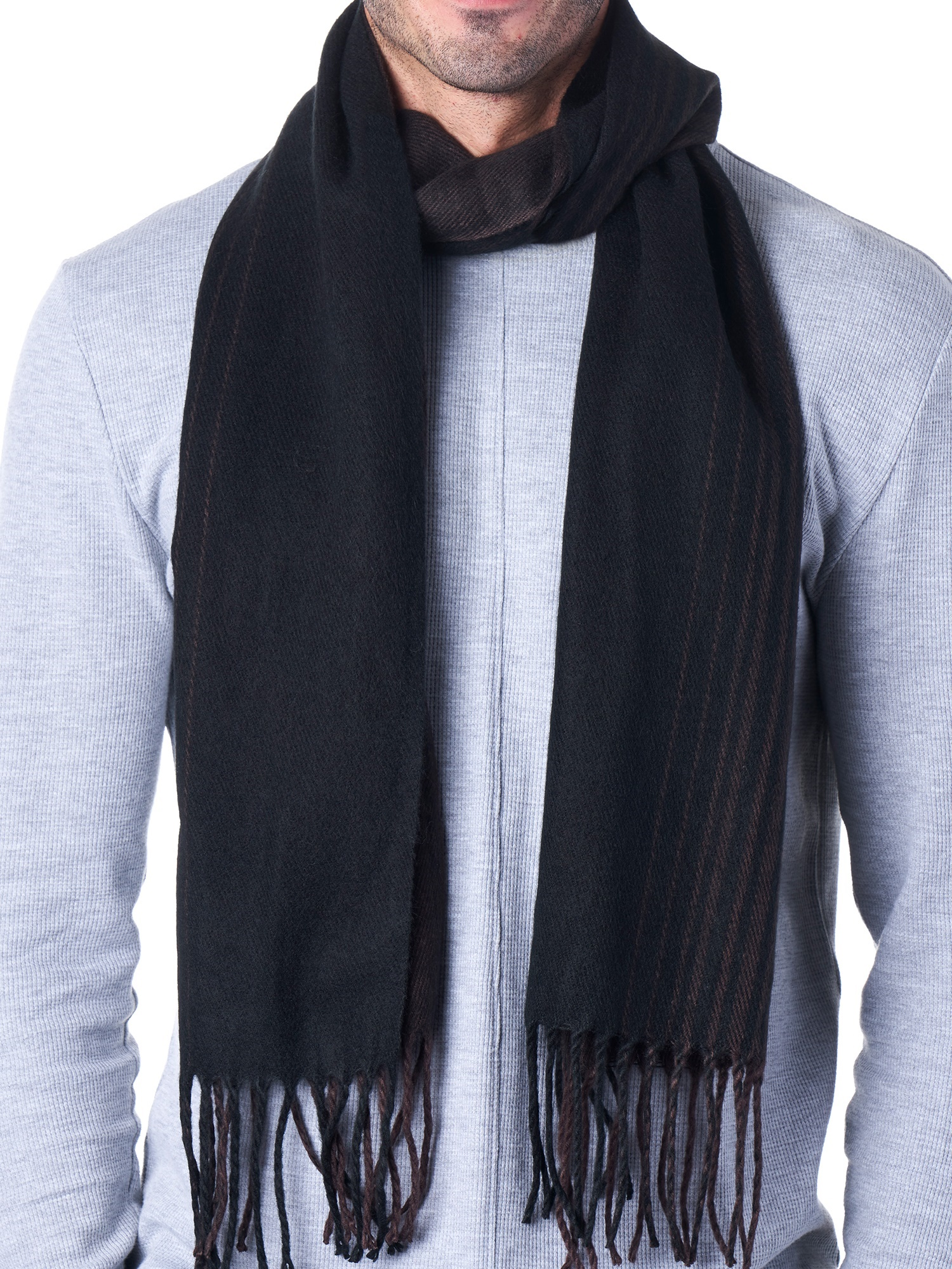 Hammer-Anvil-Mens-Plaid-Striped-Scarf-Womens-Winter-Scarves-Cashmere-Soft-Feel thumbnail 13