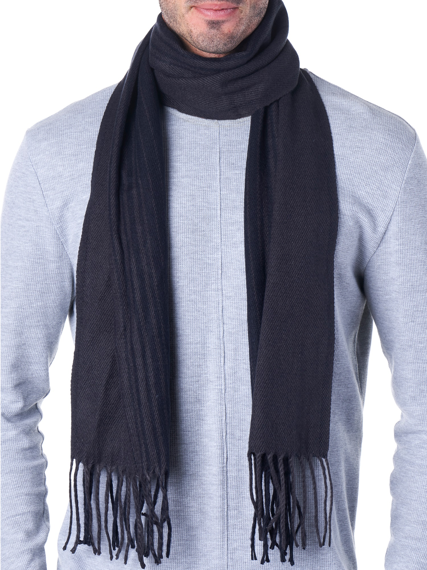 Hammer-Anvil-Mens-Plaid-Striped-Scarf-Womens-Winter-Scarves-Cashmere-Soft-Feel thumbnail 18
