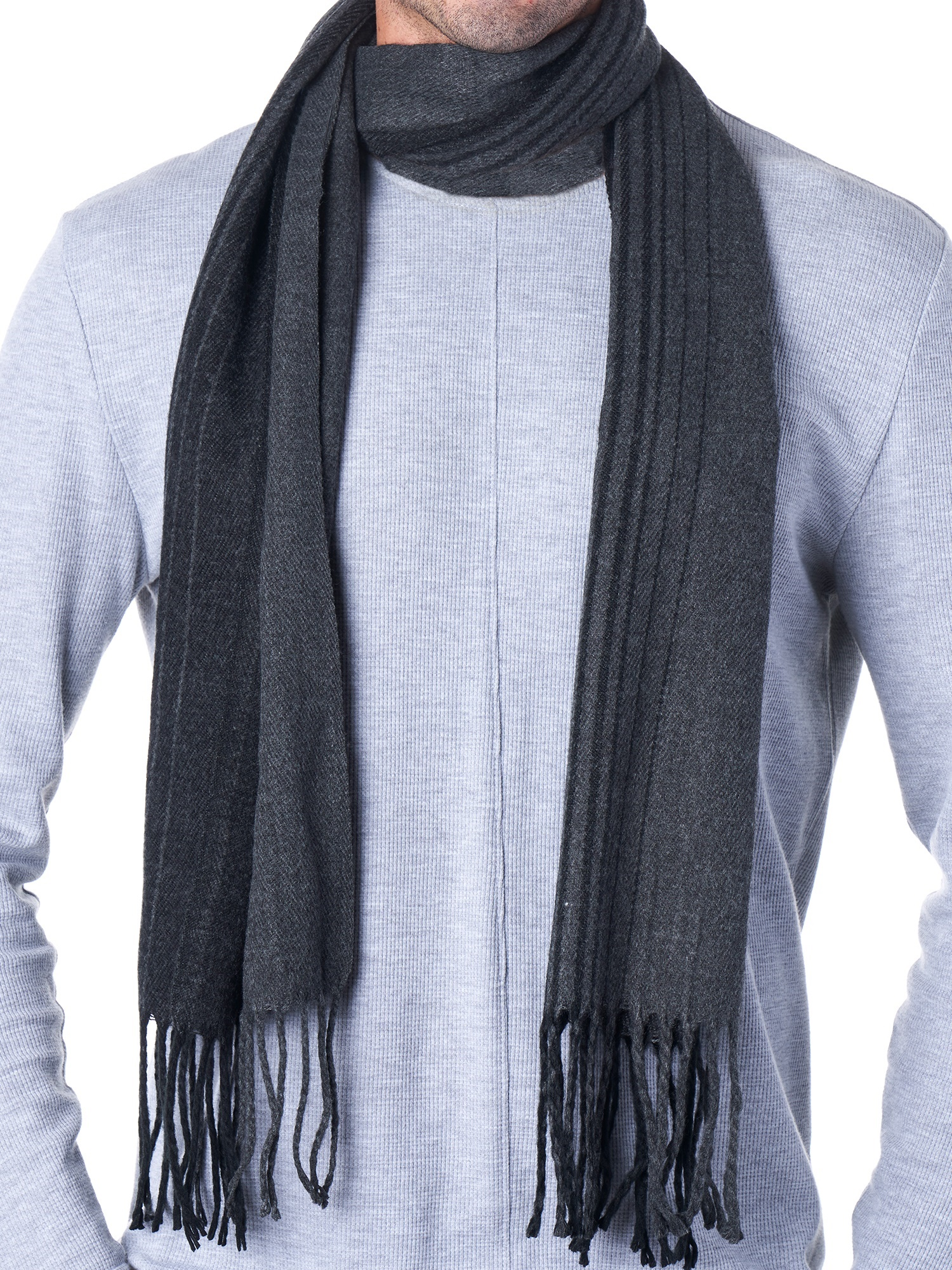 Hammer-Anvil-Mens-Plaid-Striped-Scarf-Womens-Winter-Scarves-Cashmere-Soft-Feel thumbnail 23