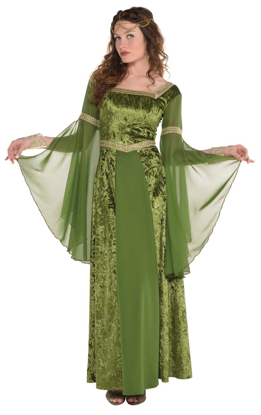 Costumes Renaissance Gown Womens Adult Medieval Maiden Costume