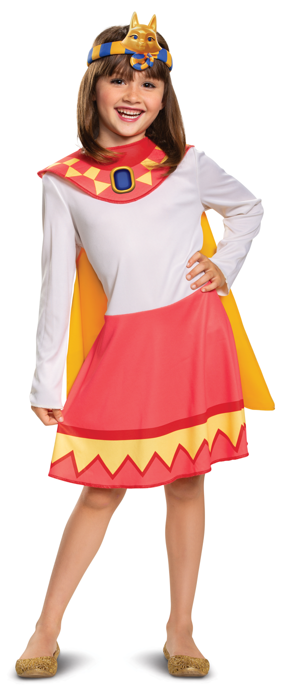 Details About Cleo Graves Girls Mummy Super Monsters Costume