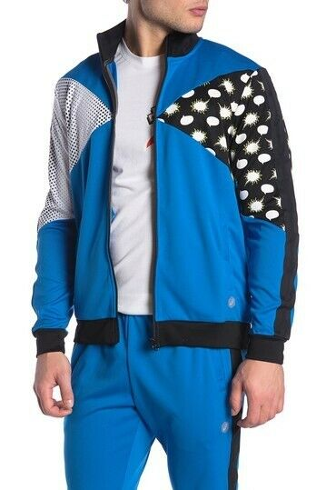 ASICS-Tiger-Men-039-s-Track-Jacket-Clothes-2011A525 thumbnail 14
