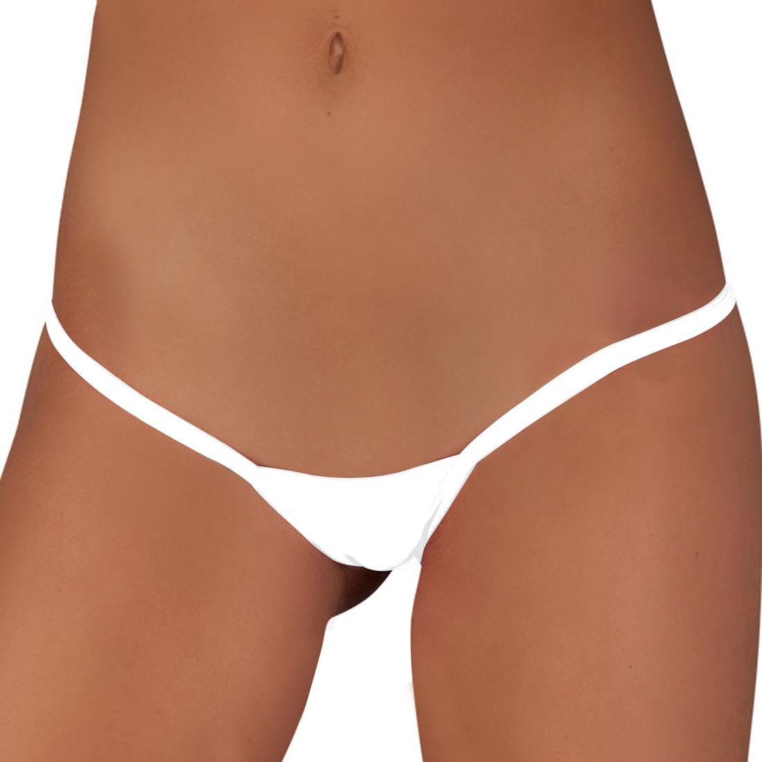 Sexy White Thong 117