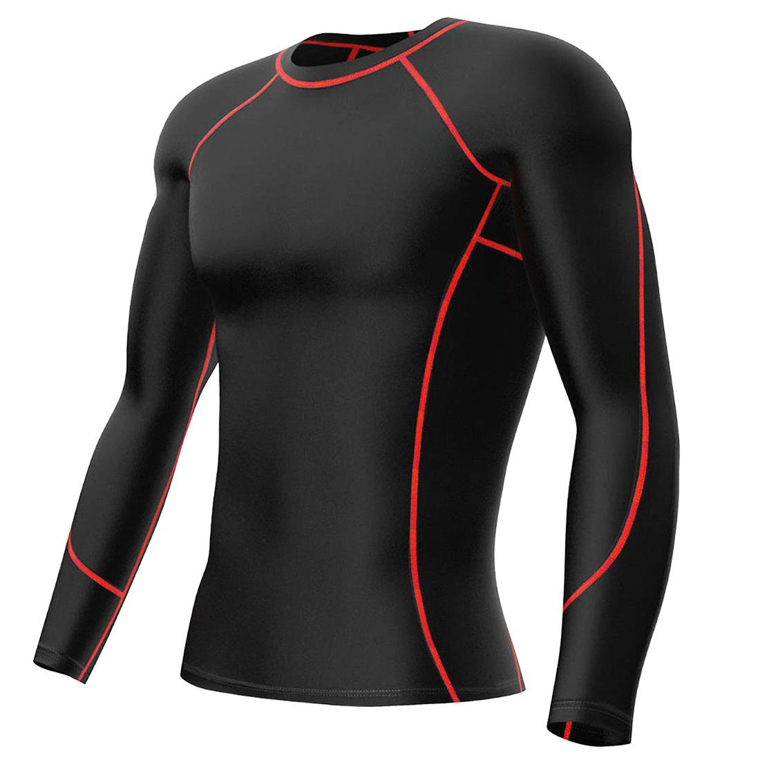 Mens Compression Shirt Vest Pants Shorts Gym Workout Base ...