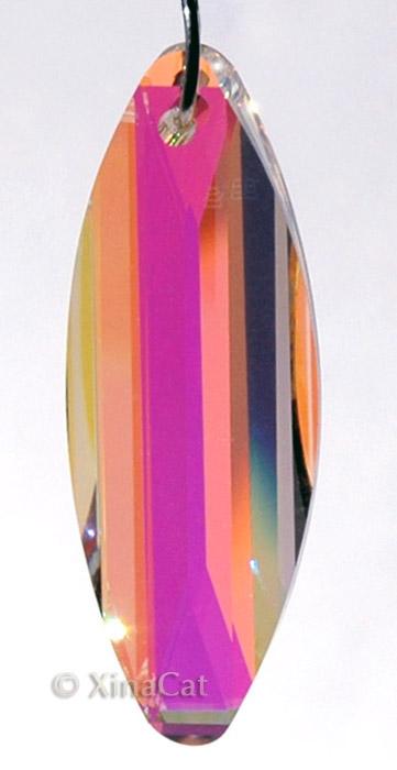 50mm-Surf-Strass-SWAROVSKI-Austrian-Crystal-Clear-AB-8950-8041-Prism-Pendant-2-034