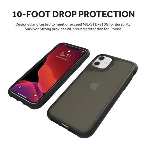 Griffin-Survivor-Strong-Case-iPhone-11-FortiCore-MIL-STD-810G-All-Colours-VS thumbnail 5